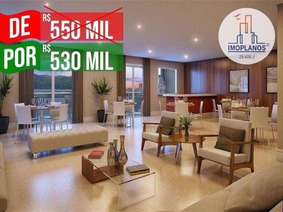 Apartamento Com 3 Dormitórios À Venda, 120 M² Por R$ 530.000,00 - Canto Do Forte - Praia Grande/sp - Ap10688