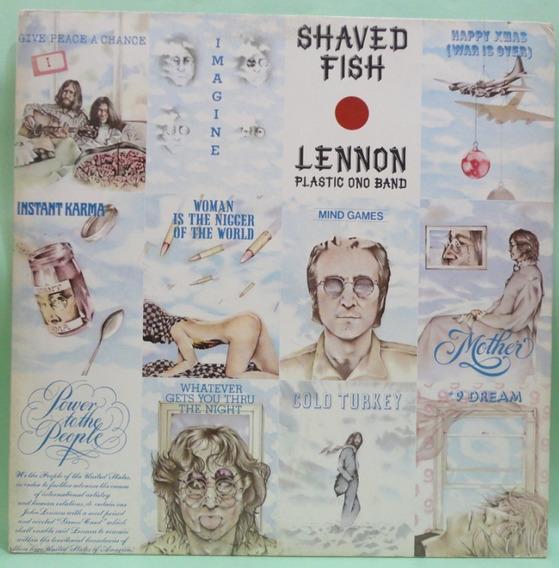 Lp Vinil Usado John Lennon /plastic Ono Band - Shaved Fish