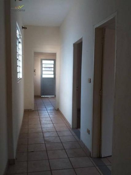 Casa Com 2 Dormitórios Para Alugar, Sob Consulta - Centro - Mogi Guaçu/sp - Ca1263