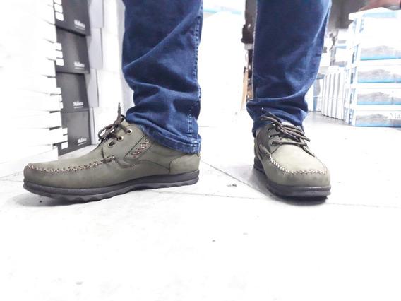 Calzado Hombre Cuero Vacuno Estilo Mocasin Zapato