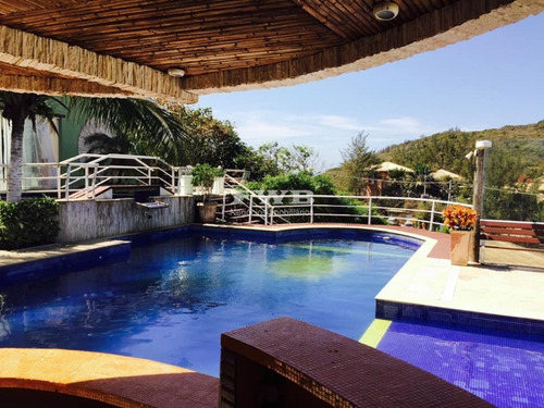 Bela Casa Triplex Praia Da Ferradura Búzios 5 Suítes - 204b0043 - 68445442