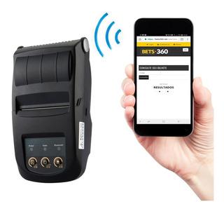 Impressora Portatil 58mm Jogos Aposta Celular Pos Esc