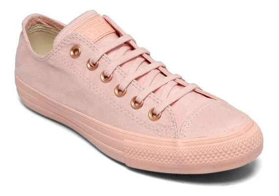 Tênis Converse All-star Suede Rosa Suede Ct08540001