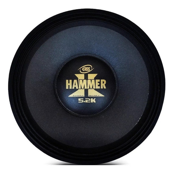 Reparo Alto Falante Eros 12p Hammer 5.2k 2600 Rms 2 Omos