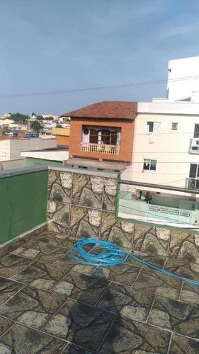 Sobrado Com 3 Dormitórios À Venda, 112 M² Por R$ 480.000,00 - Jardim Progresso - Santo André/sp - So2244