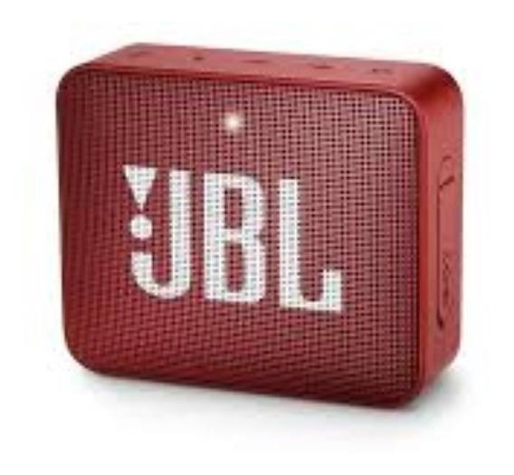 Caixa Bluetooth Jbl Go2 Blue, À Prova D