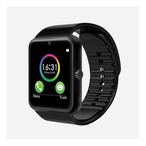 Smartwatch Techzone Touch Bluetooth3.0 Android-ios Negro P/v