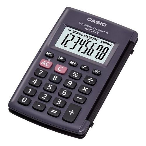 Calculadora Casio Portátil Hl-820lv-bk