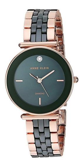Relógio Feminino Anne Klein Cerâmica Verde