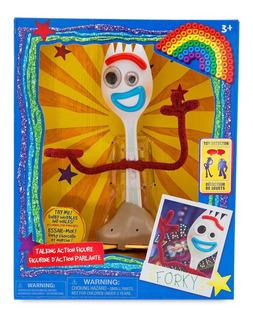 Muñeco Interactivo Forky - Toy Story 4 Original Disney Store