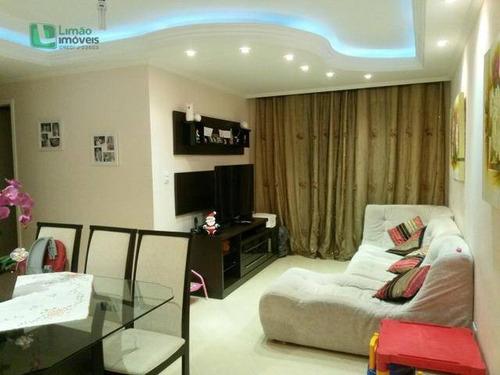 Apartamento Residencial À Venda, Vila Nova Cachoeirinha, São Paulo. - Ap0451