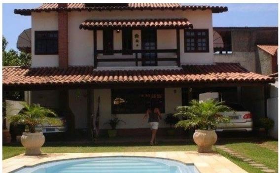 Linda Casa Com Piscina Próximo A Praia!!! - Ja256