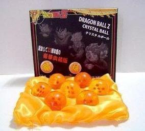7 Esferas Do Dragão Dragon Ball Z Na Caixa Pronta Entrega