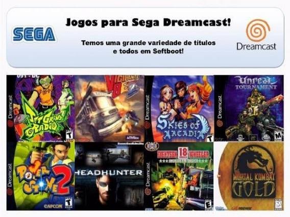 25 Jogos Para Dreamcast Monte Sua Lista, Novos E Testados