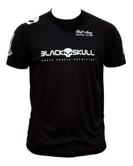 Camiseta Dry Fit Soldado Bope (preta) - Black Skull