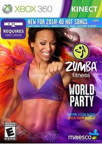 Jogo Zumba Fitness Word Party Xbox360 Ntsc Em Dvd Original