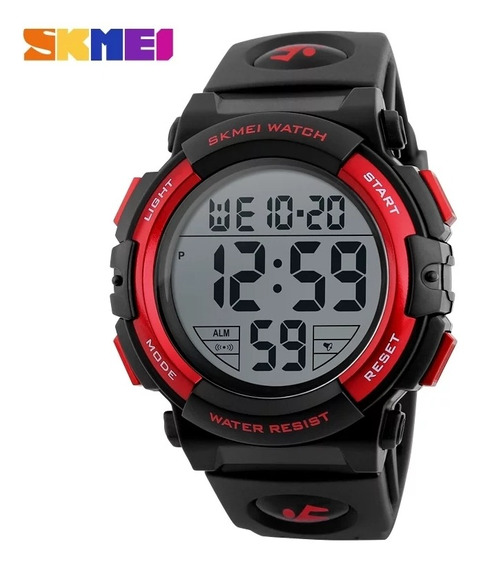 Relógio Masculino Digital Esportivo À Prova Dagua Skmei 1258