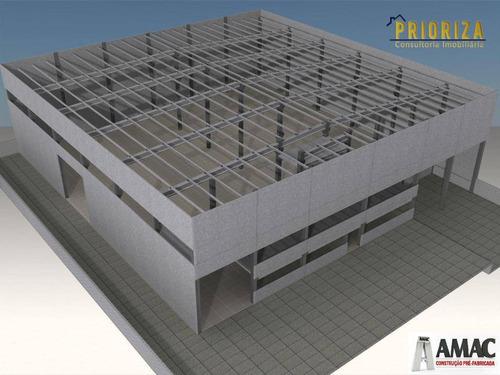 Imagem 1 de 5 de Galpão Para Alugar, 2050 M² Por R$ 40.000,00/mês - Iporanga - Sorocaba/sp - Ga0013