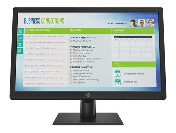 Monitor Hp Led 18.5 Polegadas Widescreen Vga V19b 2xm32aa Ac