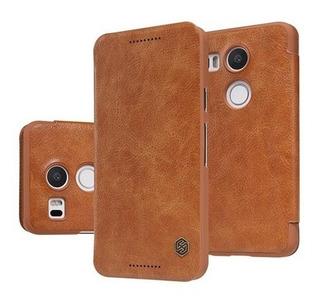 Niilkin Flip Case Pelicula Vidro Lg Nexus 5x H790 H791 Capa