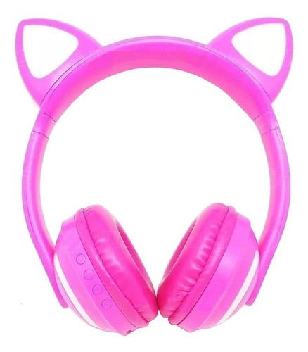 Fone de ouvido sem fio Exbom HF-C240BT fúcsia