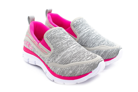 Tênis Olympikus Wellness 323 Cinza/pink