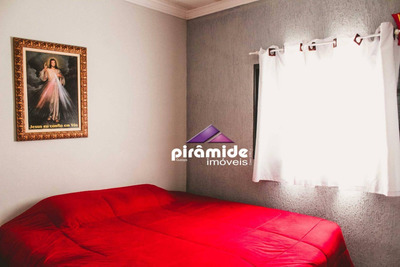 Casa Com 3 Dormitórios À Venda, 89 M² Por R$ 250.000 - Parque Interlagos - São José Dos Campos/sp - Ca4549