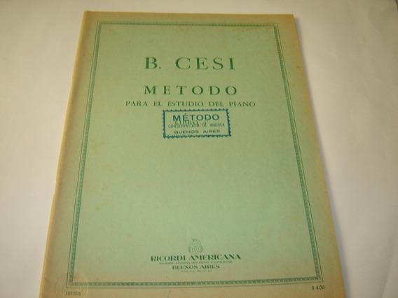Cesi Metodo Para El Estudio Del Piano Libro 4