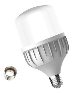 Lampara Galponera Led 50w Luz Fría E27 E40 Cfl 100w