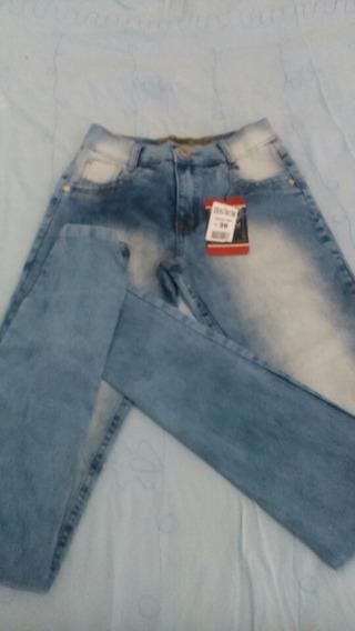 Calça Jeans Feminina Com Laicra Tamanho Do 36 Ao 44