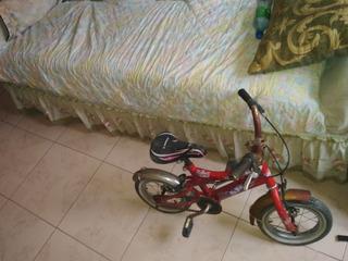 Bicicleta Infantil Hotwils Usada Para Reparación O Piezas