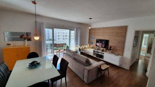 Imagem 1 de 30 de Apartamento Com 3 Dormitórios À Venda, 105 M² Por R$ 800.000,00 - Vila Ema - São José Dos Campos/sp - Ap2833