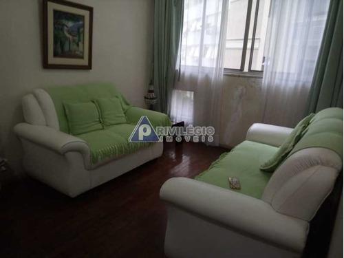 Apartamento À Venda, 3 Quartos, 1 Suíte, 1 Vaga, Lagoa - Rio De Janeiro/rj - 10697