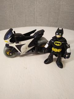 Imaginext - Batman Con Motocicleta - Fisher Price