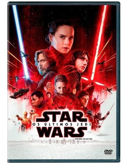 Dvd Star Wars Os Últimos Jedi