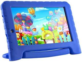 Tablet Kid Pad Plus Multilaser Azul Wifi 8gb