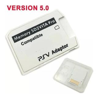 Adaptador Sd2vita V5 Psvita Desbloqueado Cartao Micro Sd