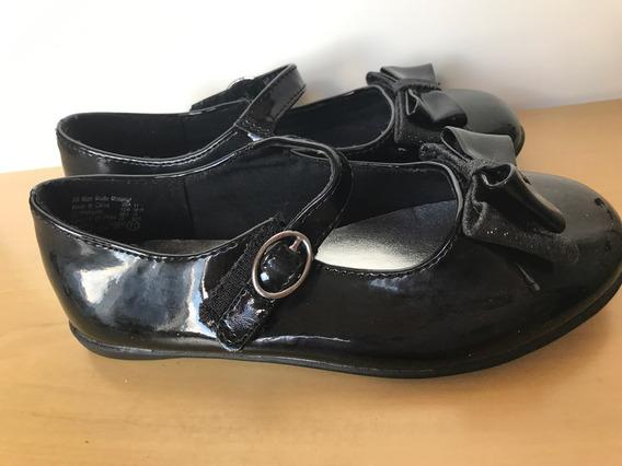 Sapato Infantil Preto Importado Tamanho 27