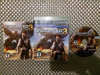 Uncharted 3 Ps3 Perfecto Estado----------------------mr.game