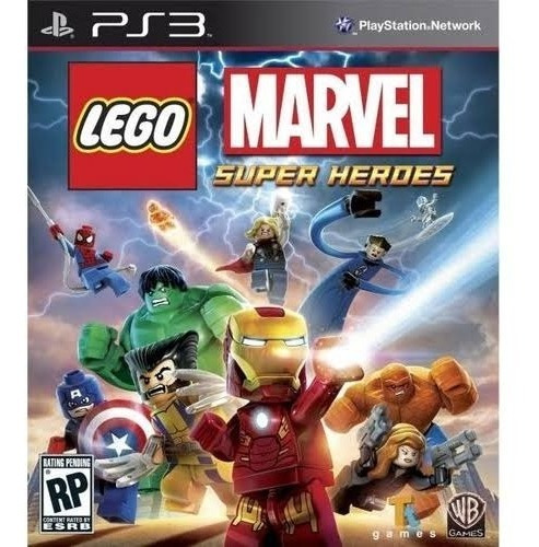 Lego Marvel Super Heroes Português (ps3) Play3 Oferta