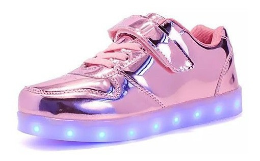 Zapatillas Led Brillosas !!! Unisex
