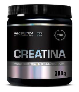 Creatina Pura Micronizada 300g - Probiótica - Promoção