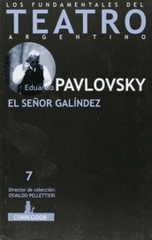 El Señor Galíndez, Eduardo Pavlovsky, Ed. Corregidor