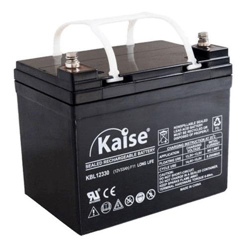 Bateria Kaise 12v 33a Ups Silla Ruedas Carro Golf  Y + Febo