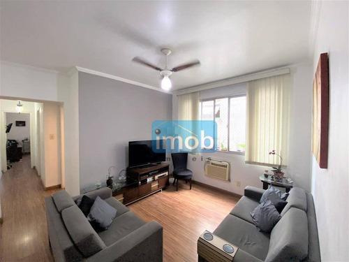 Imagem 1 de 17 de Apartamento Com 2 Dormitórios À Venda, 68 M² Por R$ 373.000,00 - Embaré - Santos/sp - Ap7838