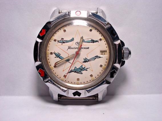 Relógio Ussr Vostok Komadirskie Avióes Soviéticos 1989/1990