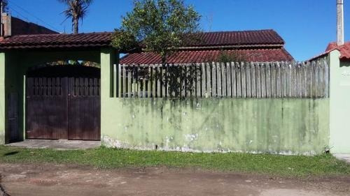 Casa Amplo Quintal, Na Praia De Itanhaém! Analisa Ofertas!