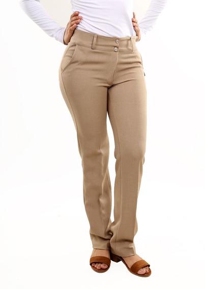 Lote 6 Pz Pantalon Vestir Dama Rígido Nacional Mayoreo 04