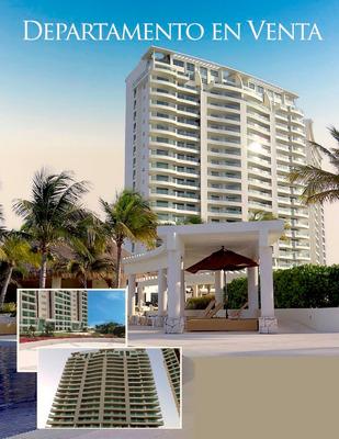 Departamento 100% Remodelado En Puerto Cancun