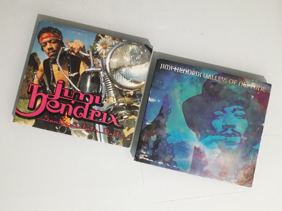 Lote Cds Jimi Hendrix X2